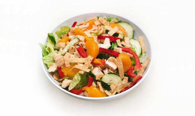 Mandarin Tree Salad